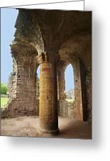 Sherborne Old Castle 7 Greeting Card