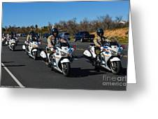 Sheriff's Motor Officers Greeting Card
