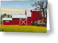 Sherman Squash Farm Greeting Card