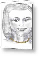 Sherry-the Gold Standard Greeting Card