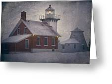 Sherwood Point Light Greeting Card