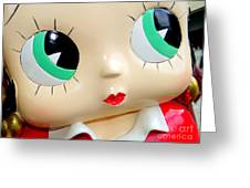 She's Got Betty Boop Eyes Greeting Card