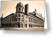 Shibe Park  Greeting Card by Bill Cannon