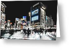 Shibuya Crossing Greeting Card