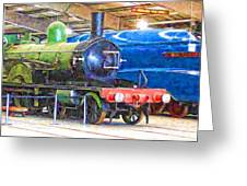 Shildon Railway Museum In England Greeting Card