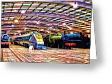 Shildon Railway Museum Greeting Card