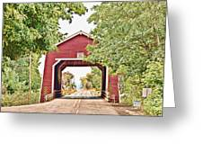 Shimanek Covered Bridge Greeting Card