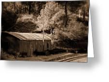 Shimla Rail Road Greeting Card