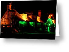 Shimla At Night Greeting Card