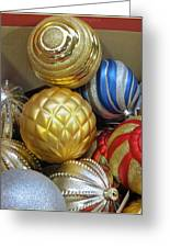 Shimmering Bauble Greeting Card