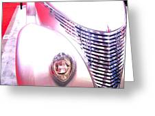 Shimmering Coupe Greeting Card