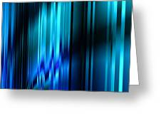 Shimmering Curtain Greeting Card