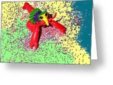 Shimmering Lobster Greeting Card