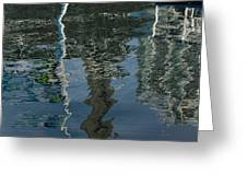 Shimmers Ripples And Luminosity Greeting Card
