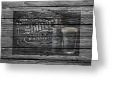 Shiner Black Lager Greeting Card