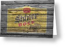 Shiner Bock Greeting Card