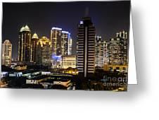 Shining Jakarta Greeting Card