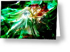 Shining Through The Glass II Greeting Card
