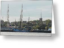 Ship 36 Greeting Card by Joyce StJames