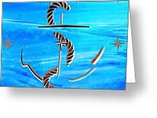 Ship Anchor Greeting Card