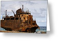 Ship Ashore Greeting Card