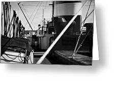 Ship Detail Greeting Card