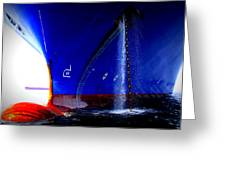 Ship - Gulf Of Mexico Greeting Card