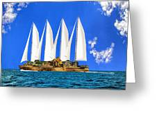 Ship Of State Greeting Card