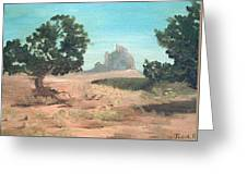 Ship Rock New Mexico Greeting Card