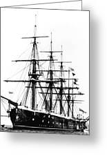 Ships Hms 'agincourt Greeting Card