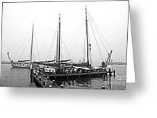 Ships Of Volendram Greeting Card