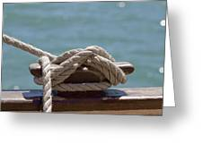 Ships Rigging I Greeting Card