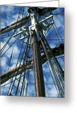 Ships Rigging Greeting Card