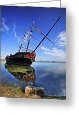 Shipwreck In Lake Ontario  Ontario Greeting Card