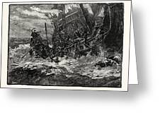 Shipwreck Of Prince William Greeting Card