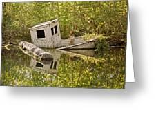 Shipwreck Silver Springs Florida Greeting Card