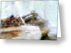 Shipwrecked Greeting Card
