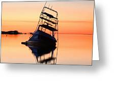 Shipwrecked In Navarre Greeting Card