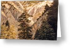 Shirley Temple Mine Greeting Card