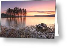 Shiroka Polyana Lake  Greeting Card