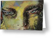 Shiva Greeting Card by Michael Creese