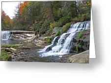 Shoal Creek Area Waterfalls Greeting Card