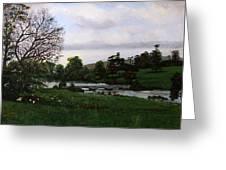 Shobrooke Park  Crediton  Devon Greeting Card