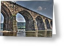Shocks Mill Bridge Greeting Card