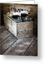 Shoebox Still Life Greeting Card by Tom Mc Nemar