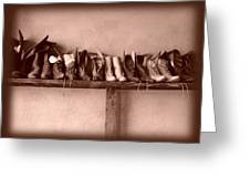 Shoes Greeting Card by Fran Riley