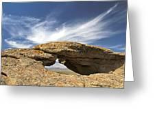 Shoofly Arch Basin And Range Greeting Card