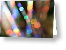 Shooting Colours Greeting Card