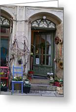 Shop Entrance Historic District Greeting Card