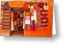 Shopping In San Miguel De Allende Greeting Card